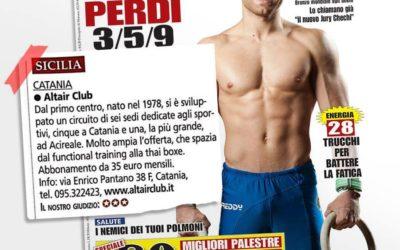 """Altair Club è stata selezionata dalla rivista """"For Men"""""""